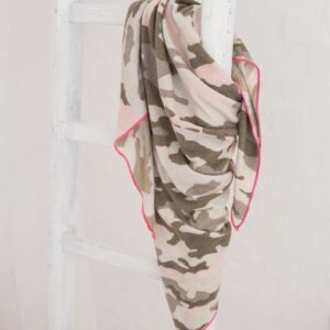 Dreieckstuch mit Cashmere Camounflage