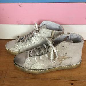 Leder Star Sneakers