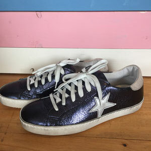 Leder Star Sneakers